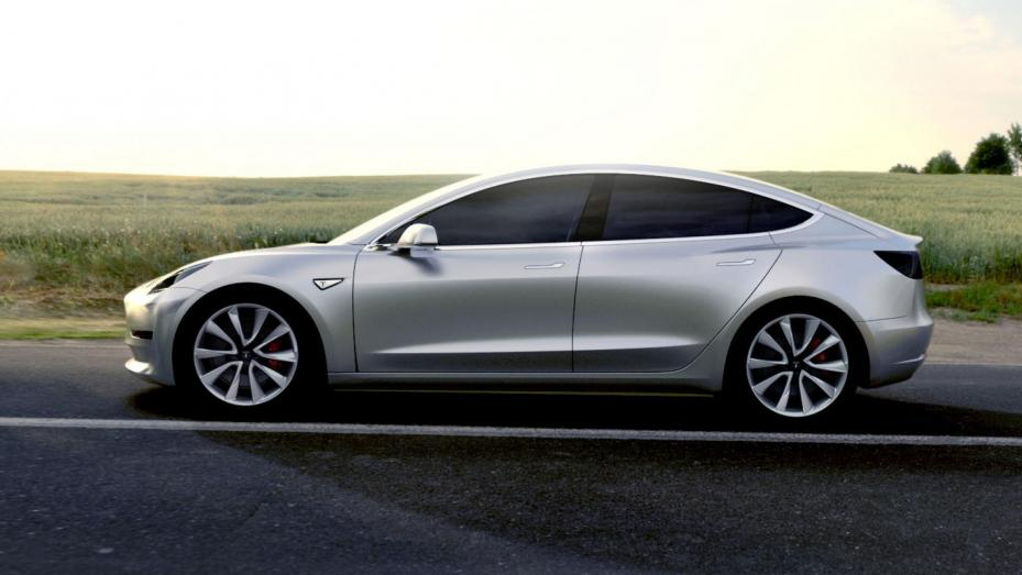 Hottest Cars -Tesla Model 3