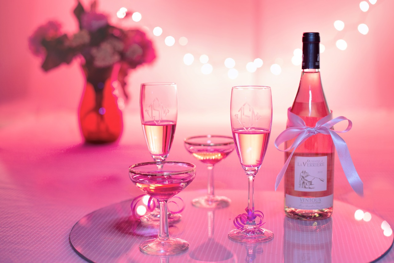 Valentine Day Wine Party