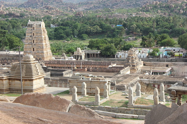 Virupaksha, One Of The Largest Cities In The World