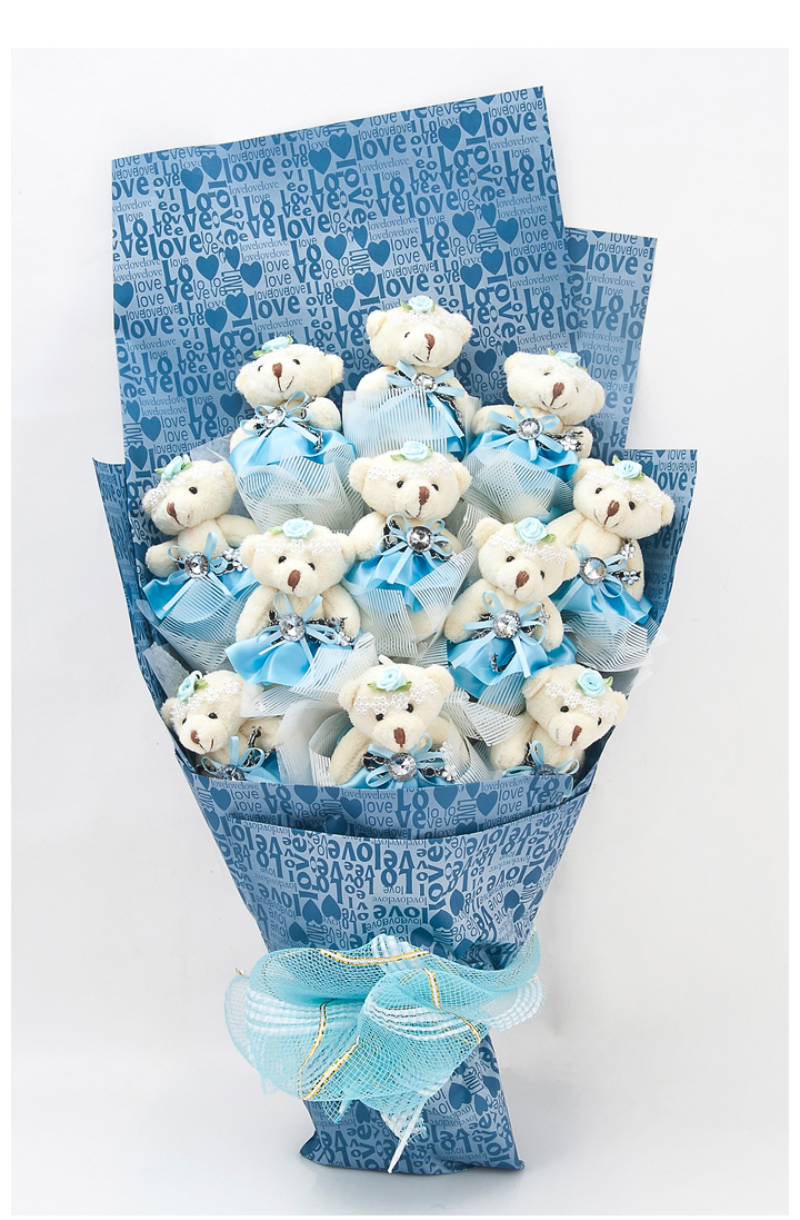 Wonderful Teddy Bouquet