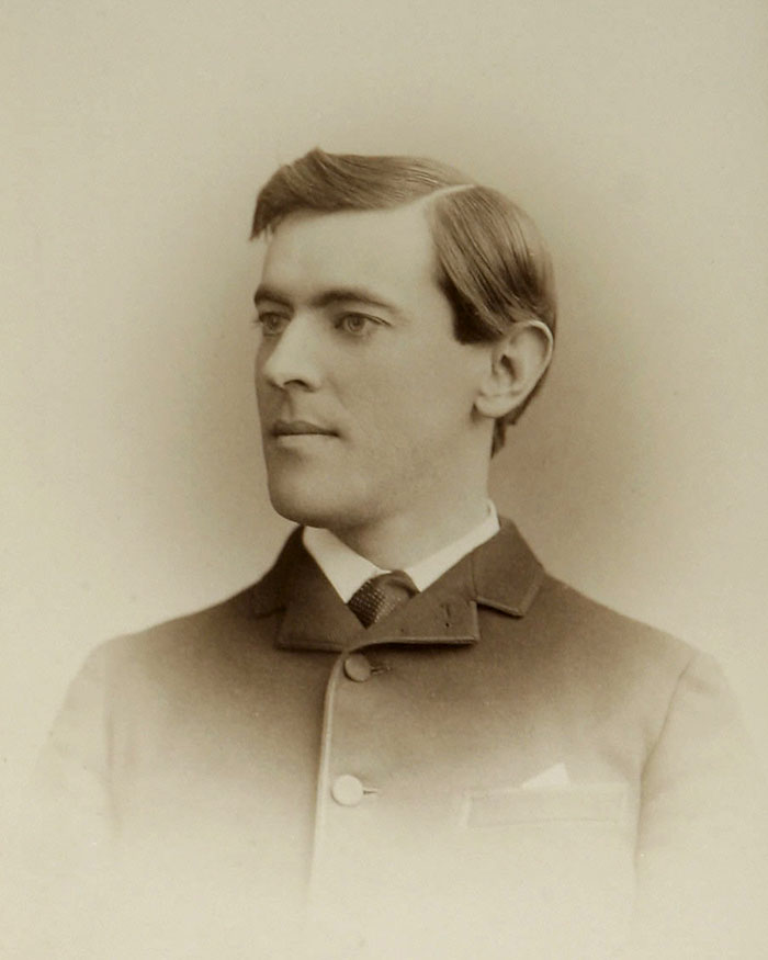 Woodrow Willson, About 19 Years Old