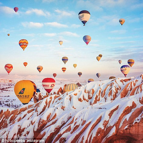 Stunning Images Hot Air Balloon