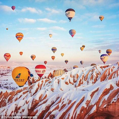 Stunning Images Hot Air Balloon