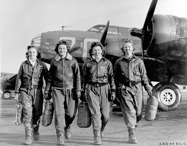 Brave Female Pilots
