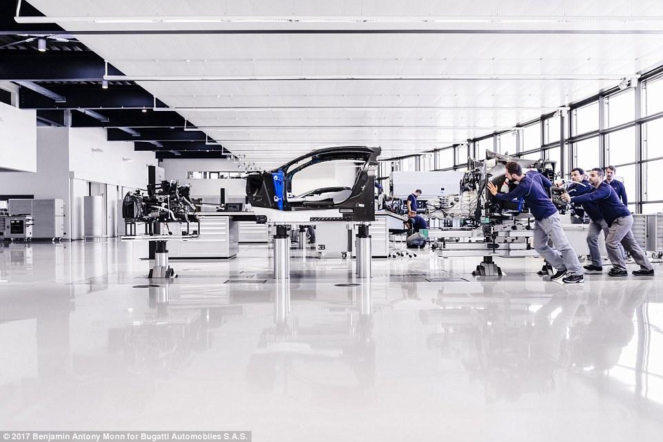 Carbon-fibre Monocoque Chassis