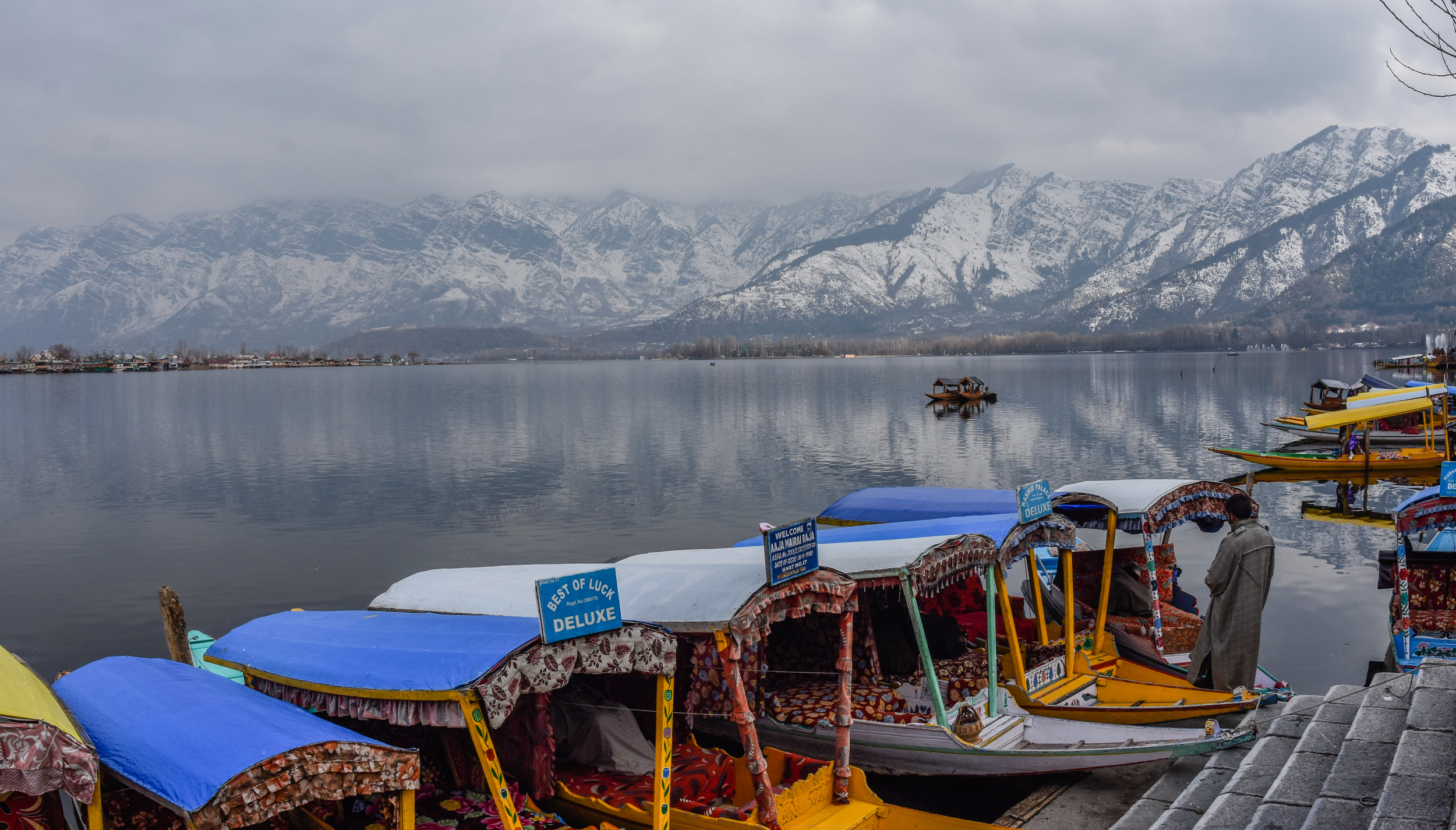 Banks Of Dal lake