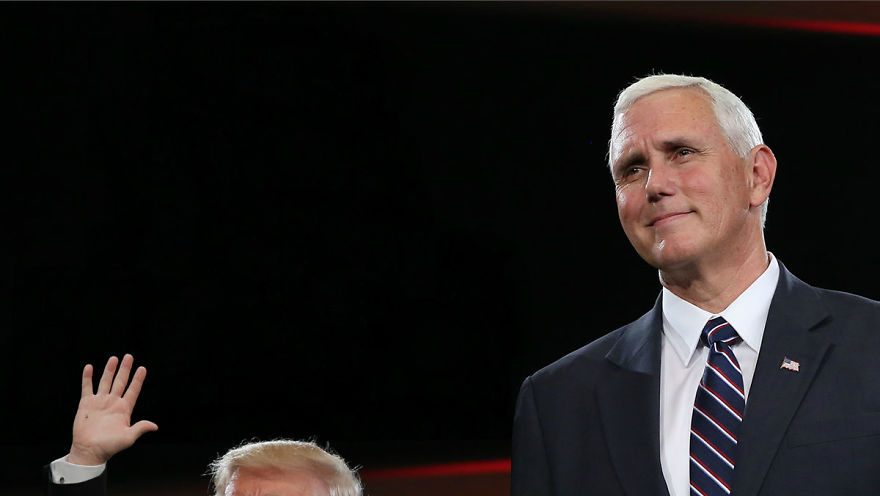 Pence Is So Proud