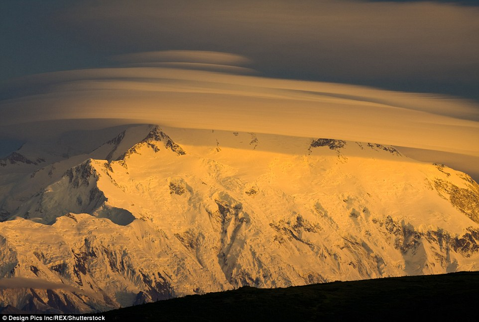 Sunset At Mount Mckinley