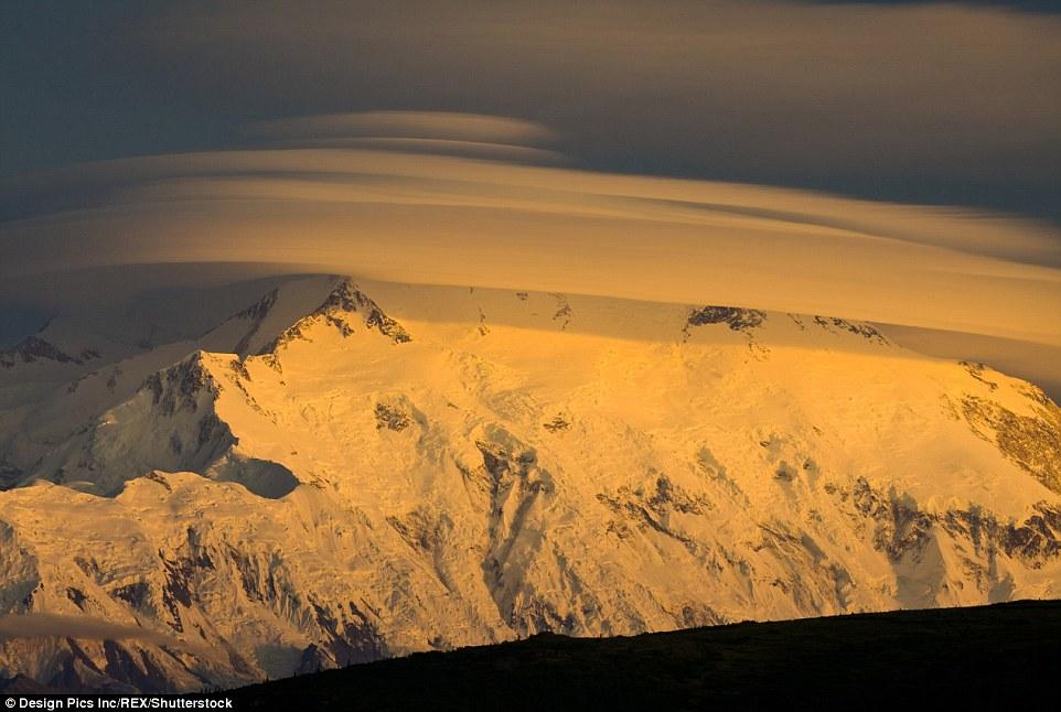 Sunset At Mount Mckinley