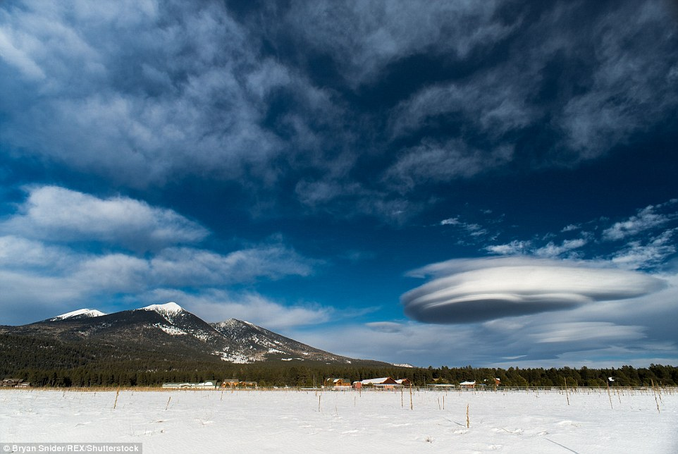 Ufo-Shaped Clouds