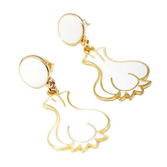 Garlic Earrings