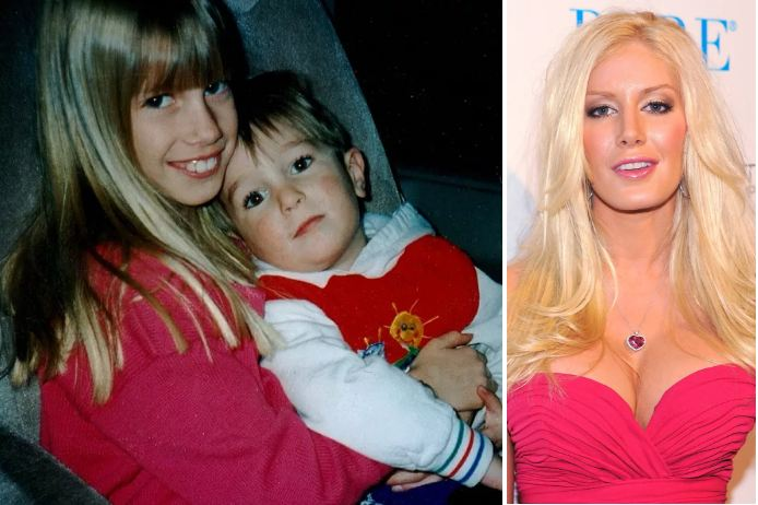 Heidi Montag - actors then and now