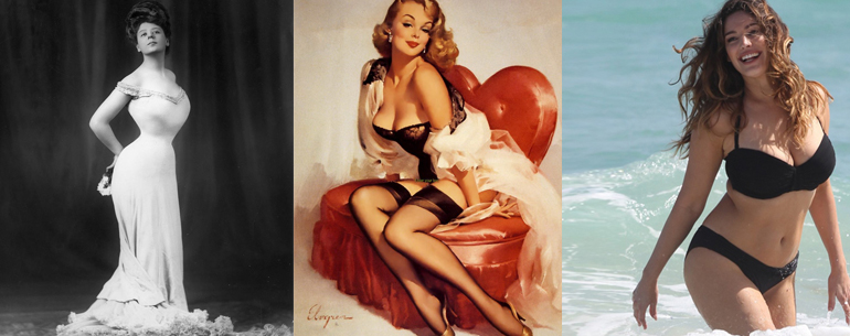 17 Photos Show How the 'Ideal' Female Body Has Changed Through The Years