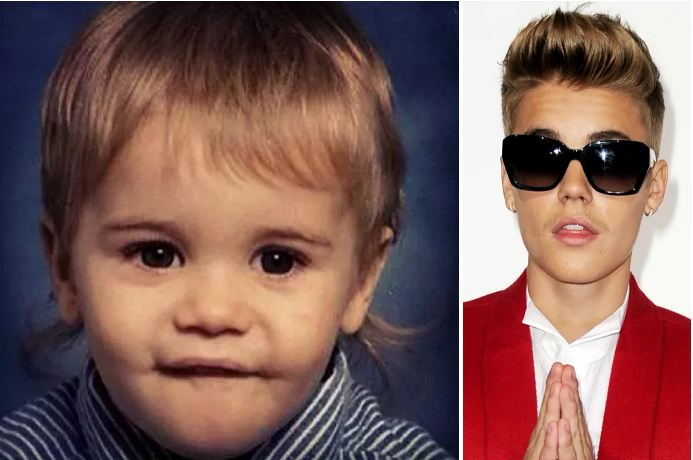 Justin Bieber - child stars now