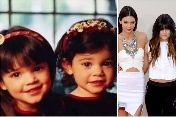 Kendall and Kylie Jenner- child starlets