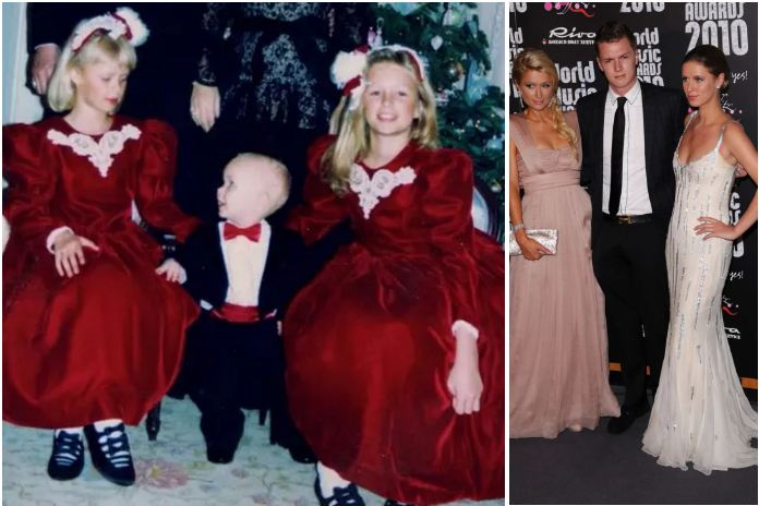 Paris, Barron and Nicky Hilton - famous child actors