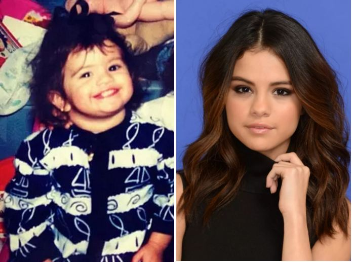 Selena Gomez-Selena Gomez-stars then and now