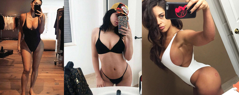 Top 27 Sexiest Celebrity Selfies EVER! Simply Sizzling Hot!!