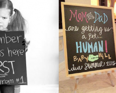 Hilarious Pregnancy Announcements
