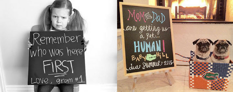 21 Hilarious Pregnancy Announcements Way That Are Totally Nailing It