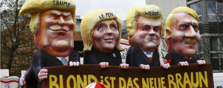 Germans Ruthlessly Ridicule Donald Trump And Brexit At Annual Carnival
