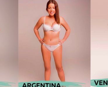 This Woman Photoshopped Her Body To Show the Ideal Picture of 'Beauty' In 18 Countries