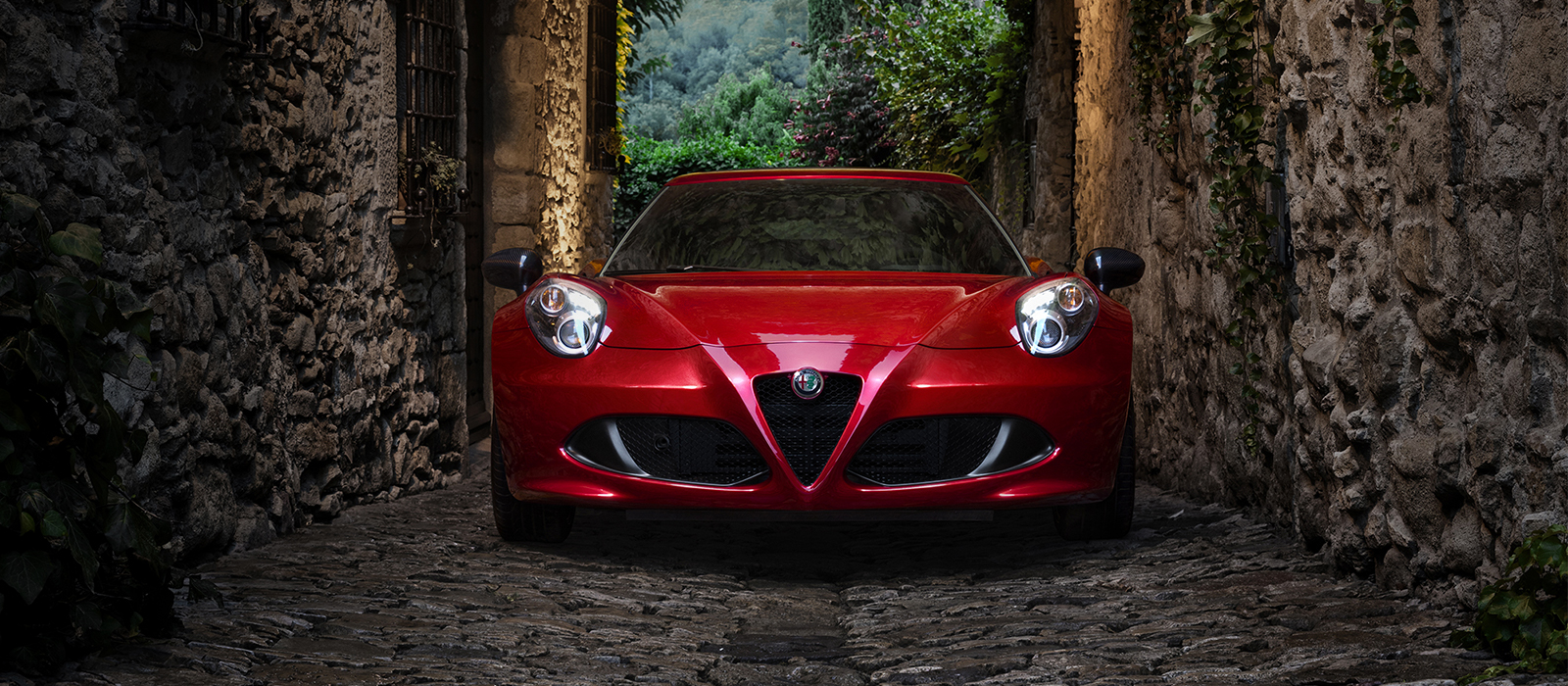 Alfa Romeo 4C - car luxury