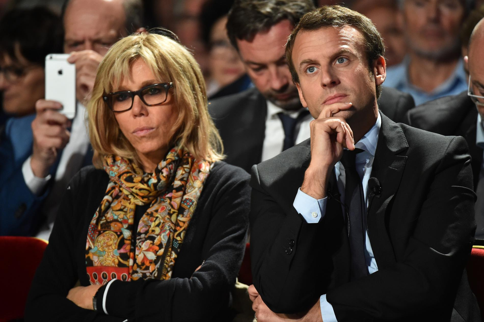 Love Story Of Emmanuel Macron And Brigitte Trogneux