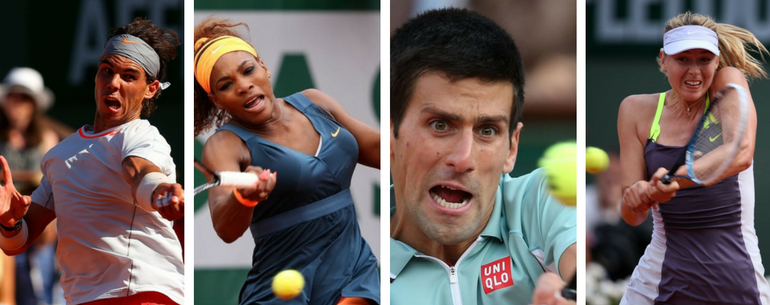 Beautiful Grunt Faces French Open