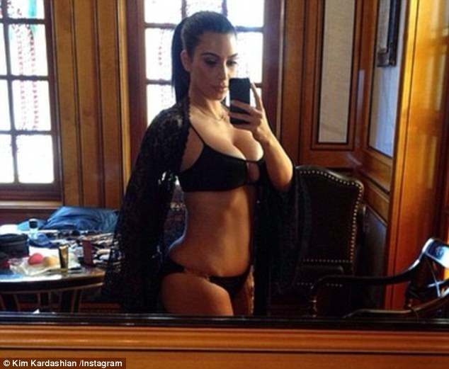 Kim Kardashian Was Left Shocked When Unflattering Bikini Pictures Of Her Surfaced Online
