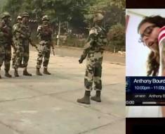 Porn Played In Sainik Sammelan at the BSF's 77th battalion