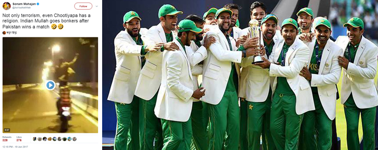 Several Fake Videos Circulated On Social Media Claiming Indian Muslims Celebrated PAK's Victory