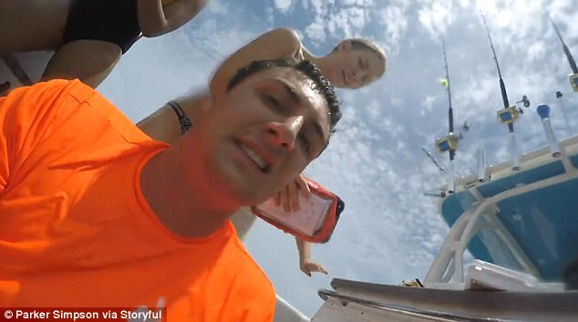 the man highlighted the importance of diving with a friend