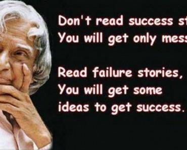 Inspiring Quotes Of Abdul Kalam