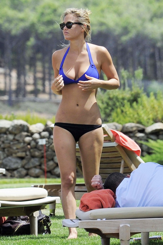 Model Bar Refaeli Sizzles In A Skimpy Tiny Bikini