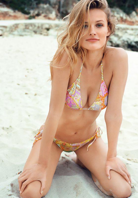Edita Vilkeviciute  Beachside Images In Hot Tiny Bikini
