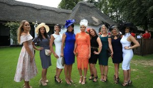 Revealing Outfits On Ladies Day