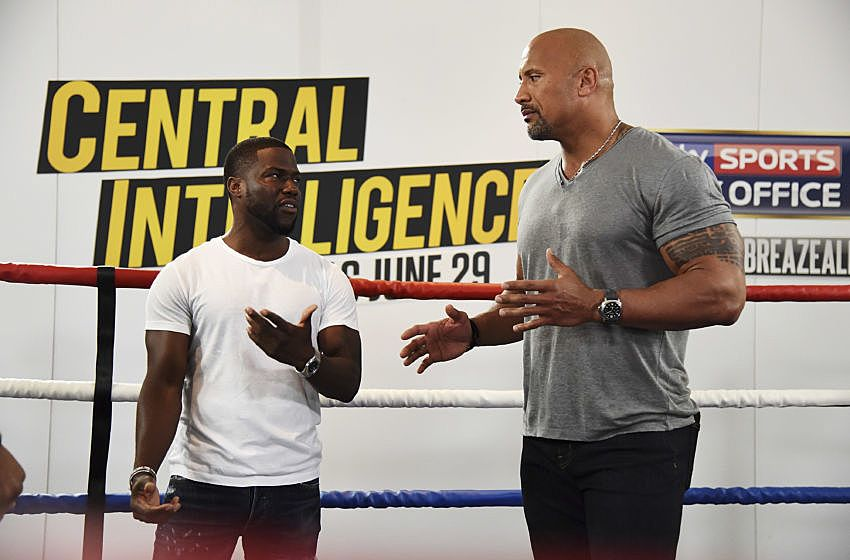 """Central Intelligence"" and Anthony Joshua Title Fight - Promotional Stunt"