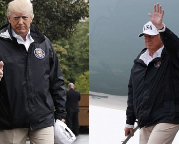 Donald Trump And Melania Trump visits Texas