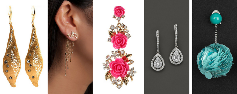 22 Dazzling Earrings Gifts For Your Sister This Raksha Bandhan