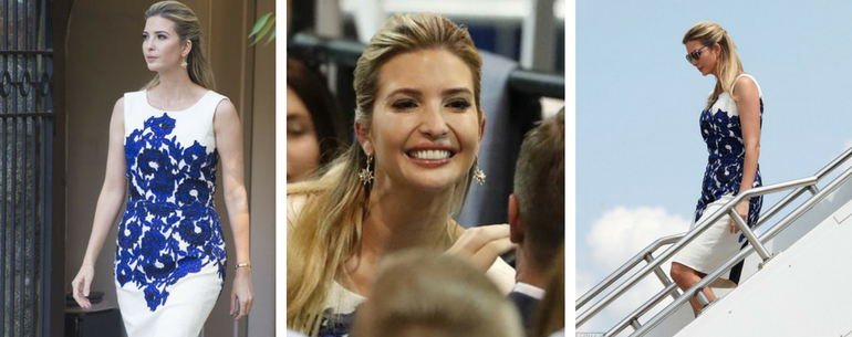 Ivanka Trump Looks Happy And Relaxed As She Heads To Missouri With The President