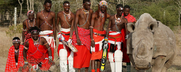 Stunning Photos Show The Maasai Cricket Warriors From Laikipia
