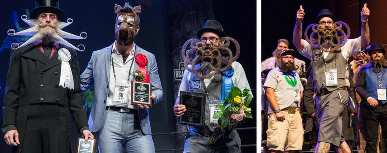 Winners Of The World's Best Facial Hair Championship Crowned In Texas