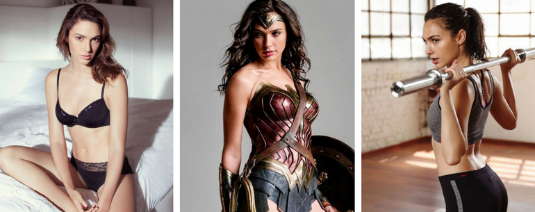 Gal Godot Hot Photos On The Web Of Wonder Woman