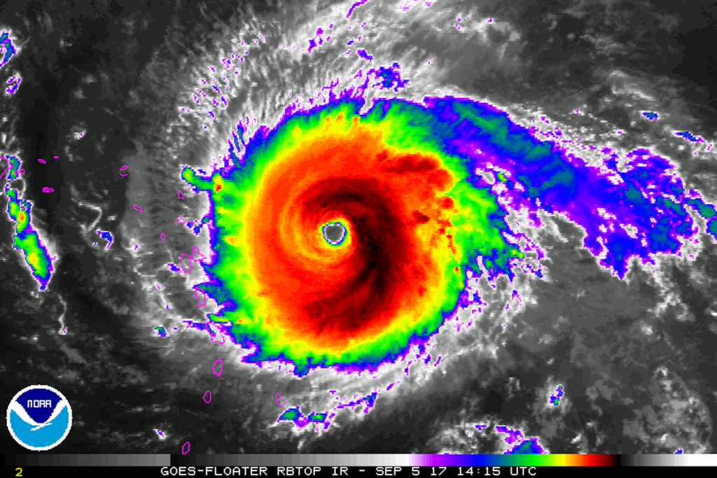 Hurricane Irma Packing 185-Mph Winds, Makes Landfall In Caribbean