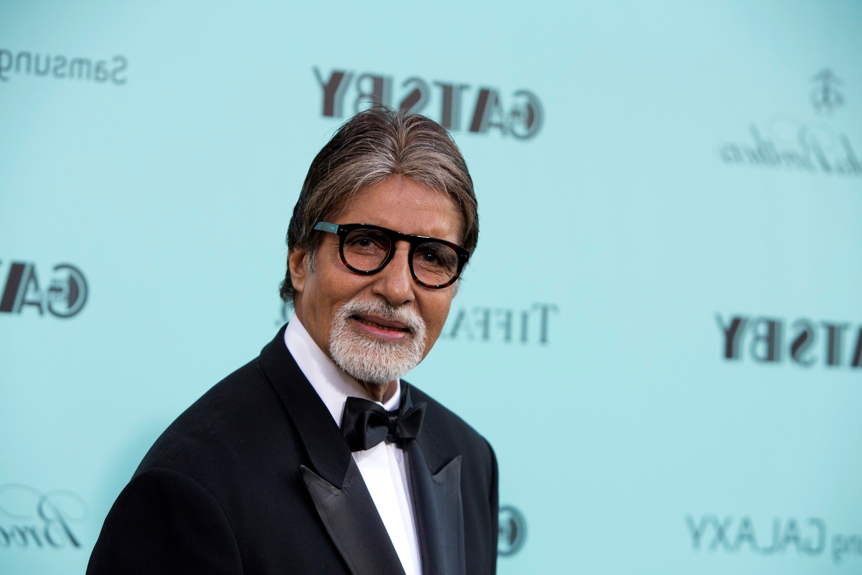 Actor Amitabh Bachchan attends the 'The Great Gatsby' world premiere at Avery Fisher Hall at Lincoln Center for the Performing Arts in New York