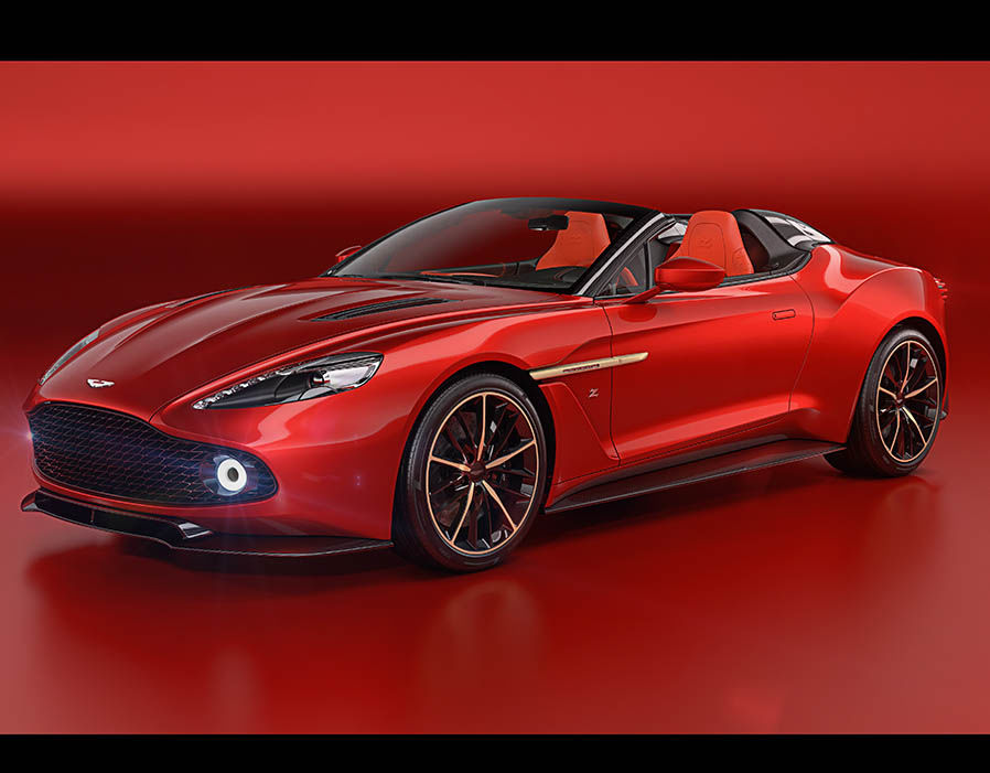 The Ultra-Rare Aston Martin Vanquish Zagato Quartet Is Here