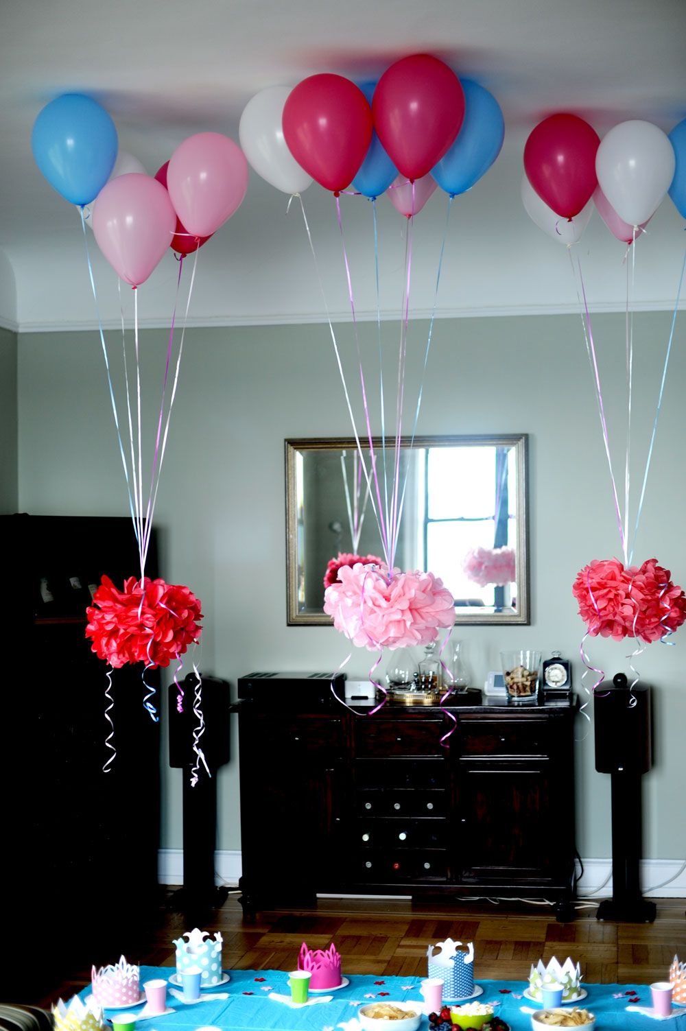 Balloons With Pictures Attached