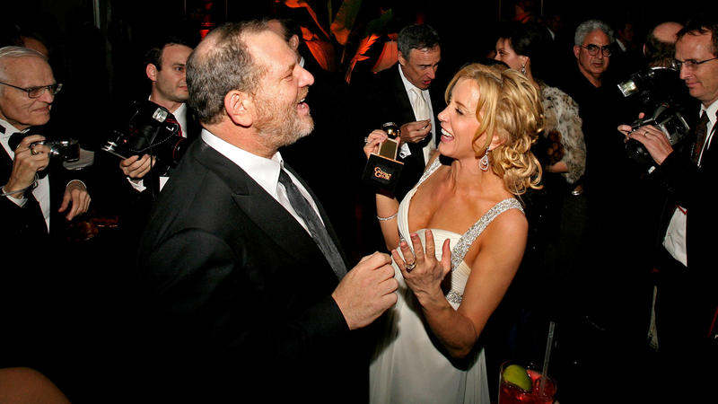Harvey Weinstein and actress Felicity Huffman