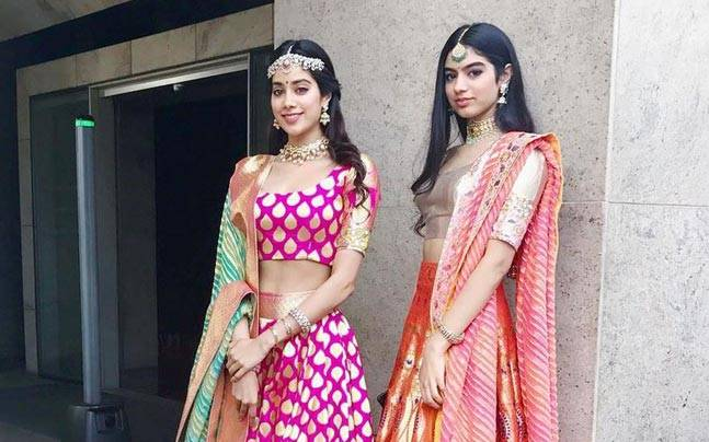 30 Hot Pictures Of Sridevi's Daughters From Instagram